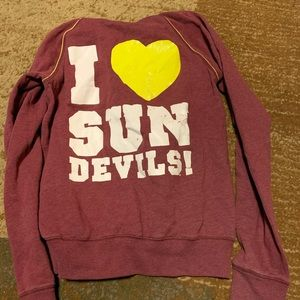 VS PINK ASU Sun Devil Jacket